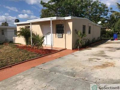 Fort Lauderdale Single Family Home For Sale: 1817 NW 25th Avenue