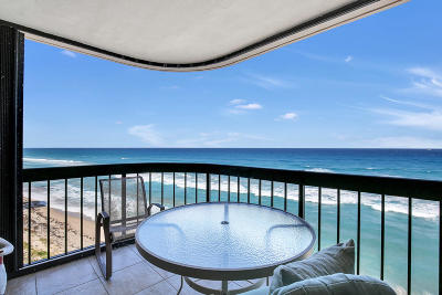 Singer Island Condo For Sale: 5380 Ocean Drive #9-D