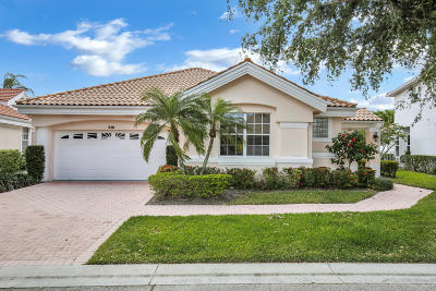 Palm Beach Gardens Single Family Home For Sale: 516 Eagleton Cove Trace