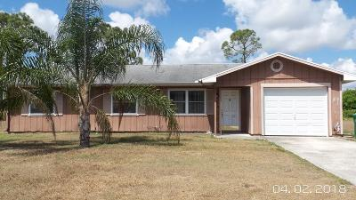 Port Saint Lucie FL Single Family Home Sold: $111,000