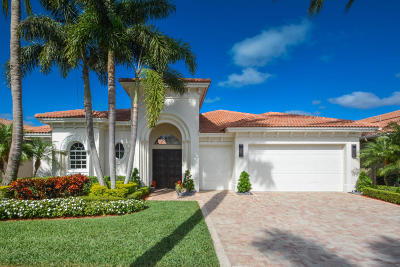 Delray Beach Single Family Home For Sale: 8023 Laurel Ridge Court
