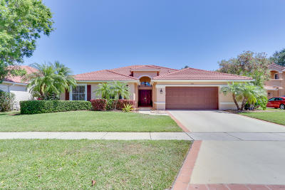 Lake Worth Single Family Home Contingent: 5791 La Gorce Circle