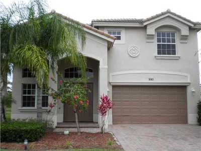 Stuart Single Family Home For Sale: 980 SE Fleming Way