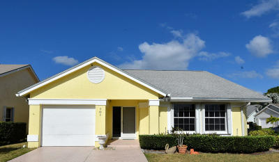 Jupiter Single Family Home Contingent: 101 Palomino Drive