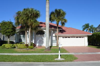 Boca Raton Single Family Home For Sale: 19363 King Palm Court