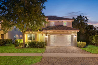 Hobe Sound Single Family Home For Sale: 5833 SE Crooked Oak Avenue
