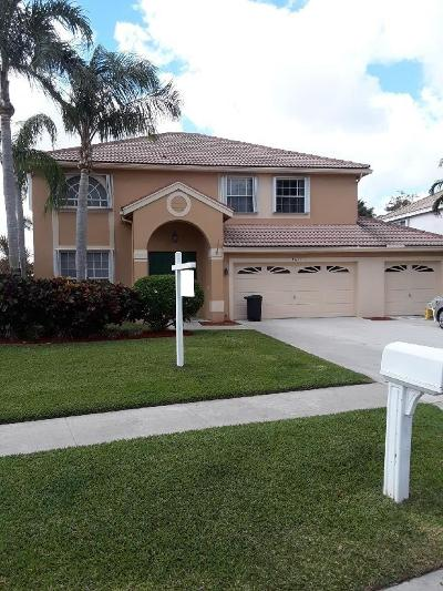 Boynton Beach Single Family Home For Sale: 9071 Picot Court