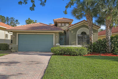 Boynton Beach Single Family Home For Sale: 7190 Boscanni Drive