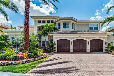 Boynton Beach Single Family Home For Sale: 10847 Canyon Bay Lane