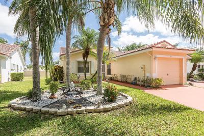 Boynton Beach Single Family Home For Sale: 16 Sausalito Drive