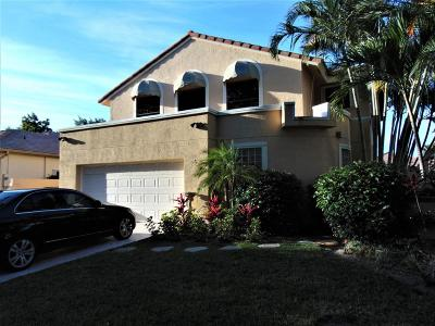 Delray Beach Single Family Home For Sale: 5099 Monterey Lane