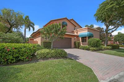 Boca Raton Single Family Home For Sale: 6485 Via Rosa