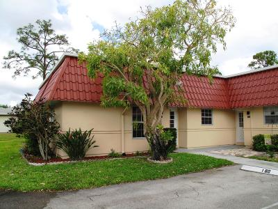Lake Worth Single Family Home For Sale: 160 Amherst Lane