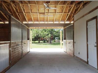 Palm Beach Little Ranches Rental For Rent: 819 Cindy Cir (Barn; No Housing) Lane #--(Stall