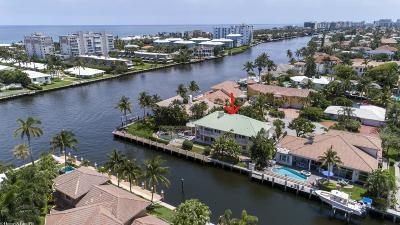 Delray Beach Single Family Home For Sale: 965 Tropic Boulevard