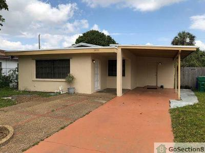 Fort Lauderdale Single Family Home For Sale: 2857 NW 12th Street