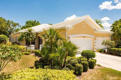 Palm City Single Family Home For Sale: 1819 SW Willowbend Lane