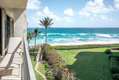 Palm Beach Condo For Sale: 3390 S Ocean Boulevard #402