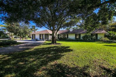 Palm City Single Family Home For Sale: 2532 SW Racquet Club Drive