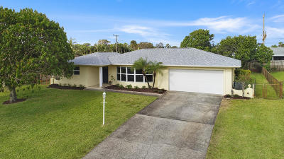 Palm Beach Gardens Single Family Home For Sale: 9923 Daisy Avenue