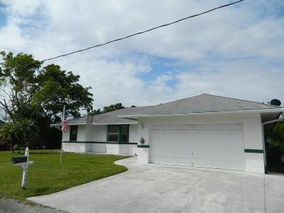 Stuart Single Family Home For Sale: 4436 SE Tribout Lane