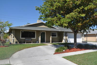 Royal Palm Beach Single Family Home For Sale: 393 Las Palmas Street