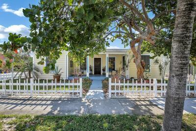 West Palm Beach Single Family Home For Sale: 2000 Florida Avenue