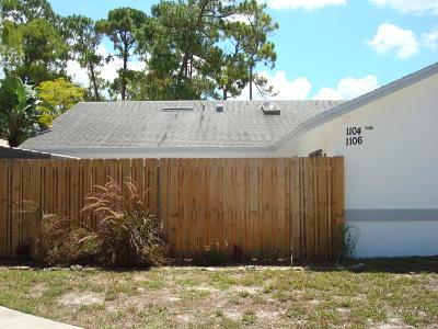 Wellington Single Family Home For Sale: 1106 Hyacinth Place #1106