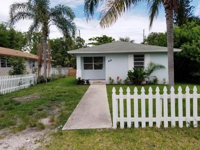 Delray Beach Single Family Home For Sale: 909 SE 4th Avenue