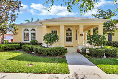 Jupiter Single Family Home For Sale: 105 Rockingham Road