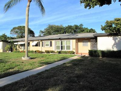 Delray Beach Single Family Home Contingent: 1022 Circle Drive #C