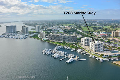 North Palm Beach Condo For Sale: 1208 Marine Way #706