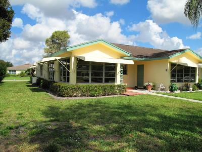 Delray Beach Single Family Home Contingent: 14210 Nesting Way #A