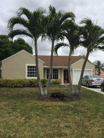 Boynton Beach Single Family Home For Sale: 5743 Pebble Brook Lane
