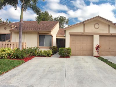 Boca Raton Single Family Home For Sale: 8215 Whispering Palm Drive