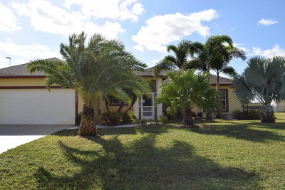 Port Saint Lucie Rental For Rent: 5781 NW Eskimo Circle