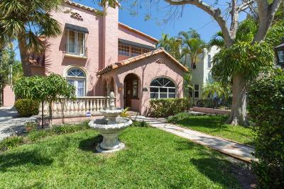 West Palm Beach Single Family Home For Sale: 509 26th Street