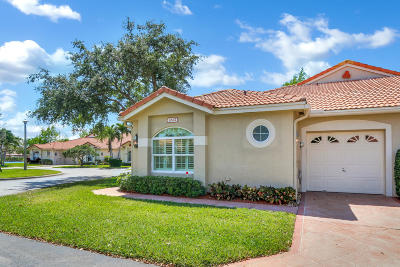 Boynton Beach Single Family Home Contingent: 2632 Mango Creek Lane