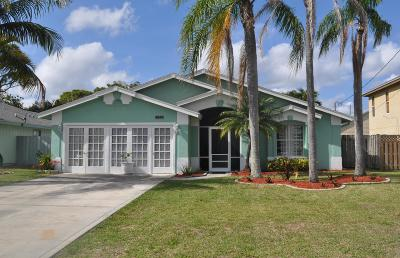 Jupiter Single Family Home For Sale: 6217 Drake Street