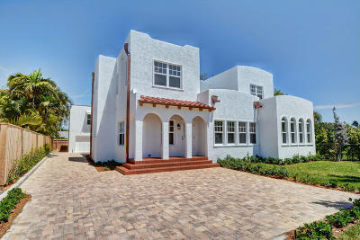 West Palm Beach Single Family Home For Sale: 215 Pilgrim Road