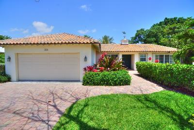 Palm Beach Shores Rental For Rent: 331 Sandal Lane