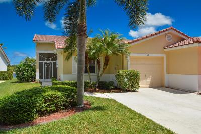 Boynton Beach Single Family Home For Sale: 163 Sausalito Drive