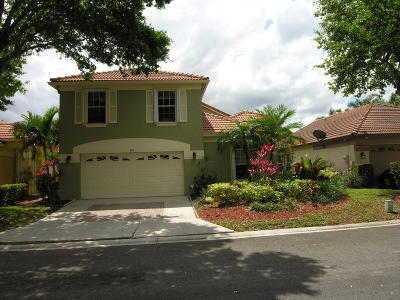 Riviera Beach Single Family Home For Sale: 4114 Dakota Place