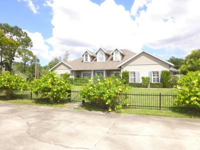 Royal Palm Beach Single Family Home For Sale: 4150 Royal Palm Beach Boulevard