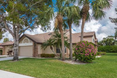 boynton beach Single Family Home For Sale: 7327 Le Chalet Boulevard