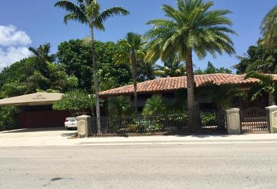 Lake Worth Single Family Home For Sale: 1301 Federal Highway