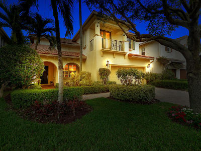 Palm Beach Gardens Single Family Home For Sale: 1067 Vintner Boulevard