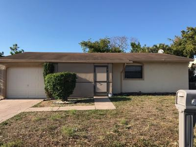 Margate Single Family Home For Sale: 7269 Southgate Boulevard