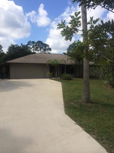 Jupiter Farms Rental For Rent: 13926 154th Place