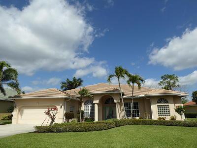 Hobe Sound Single Family Home Contingent: 7840 SE Double Tree Drive